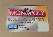 Monopoly Electronic Banking Replacement Debit Credit Payment System Yellow Card