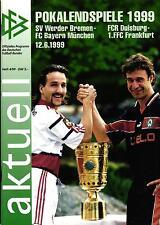 DFB-Pokalendspiel 1999 SV Werder Bremen - FC Bayern München, 12.06.1999