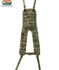 MILITARY STYLE MOLLE BATTLE BTP MULTICAM BRITSH ARMY CADET WEBBING AIRSOFT