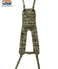 MILITARY STYLE MOLLE BATTLE BTP MULTICAM BRITSH ARMY CADET WEBBING AIRSOFT
