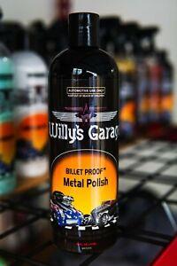 WILLY'S GARAGE BILLET PROOF METAL POLISH/ NEW SHINE