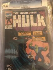 Incredible Hulk #384 CGC Graded 9.6 Marvel, August 1991 White Pages Comic Book