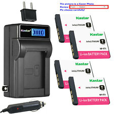 Kastar Battery LCD AC Charger for Sony NP-FT1 & Sony Cyber-shot DSC-T5/R Camera