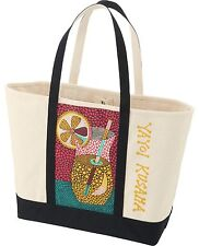YAYOI KUSAMA x UNIQLO 'Lemonade' Tote Bag / Beach Bag Over-sized SPRZ NY **NWT**