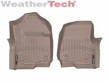 WeatherTech Floor Mats FloorLiner for Ford Super Duty - 2017 - 1st Row - Tan
