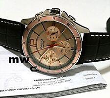 New Genuine Casio MTP-1374L-9A Men's 50M Day Date Analog Quartz Dress Watch