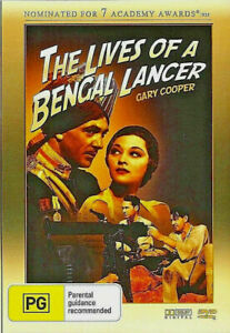 LIVES OF A BENGAL LANCER DVD 1935 Gary Cooper - Richard Cromwell WAR RARE MOVIE