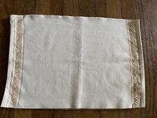 New listing New FabIndia Table Placemats Cotton Woven Zanskar set of 6 Natural / Beige