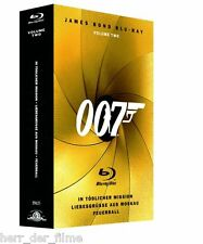 JAMES BOND BLU-RAY Vol. 2 (Sean Connery, Roger Moore) 3 Blu-ray Discs NEU+OVP