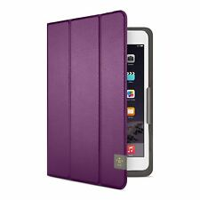 """BELKIN TRIFOLD FOLIO CASE FOR iPAD MINI 1,2,3,4 - and Other 8"""" Tablets - Purple"""