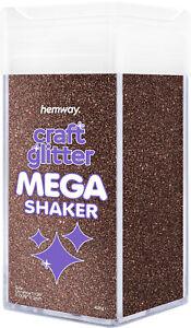 "Hemway Ultrafine Craft Glitter MEGA Shaker - 425g 1/128"" 0.008"" 0.2mm"