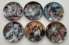 (6) Three Stooges Collector Plates, Limited Edition Franklin Mint