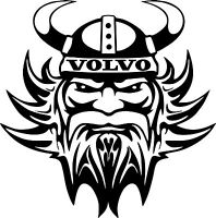 Motorsport Rally Sponsor Car Van Exterior Vinyl Decals Viking Stickers x 2