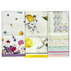Set Dishcloths Cooking Daylight Tea Towels 3Pezzi 100% Cotton Gift Idea Kit