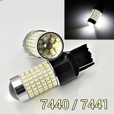 Rear Signal Lights T20 7440 7441 144 SMD 6K White LED Bulb K1 For Buick GM HA