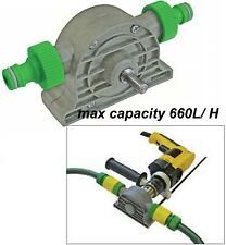 Water Pump Attachement For Use With Electric Power Drill Hose Pipe Sink  660 L/H