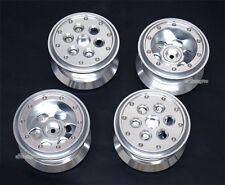 "Aluminum 2.2""Beadlock Weighted Build-in Wheel Fit Tamiya Land Cruiser CR01 CR-01"