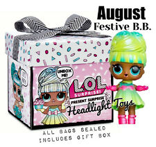 Lol Surprise Present August Festive Bb Doll Gift Box Birthday Party Bags Sealed