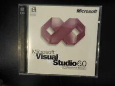 Microsoft Visual Studio Professional 6.0 Full Version & Basic PRO 6.0 Windows 10