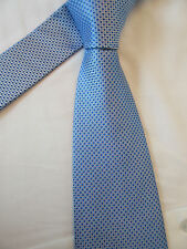 IN EXTENSO BLUE 3.5 INCH POLYESTER NECK TIE