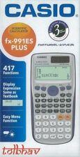 Casio FX-991ES Plus Scientific Calculator FX991ES + FX 991 ES, 417 Functions New