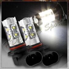 2 X 9006 HB4 CREE White 10 LED 50W High Power Headlight Fog Driving Light Bulbs