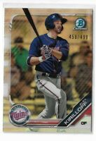 2019 Bowman chrome prospects refractor Parallel Alex Kirilloff 450/499