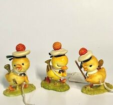 "Anri Toriart ""Trio Of Musical Ducks Chicks Ducklings"" New * Free Shipping"