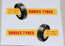Matchbox M-2b York Freightmaster 'Davies Tyres'  Decals (#287)