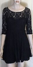 Unbranded Lace Cocktail Hand-wash Only Dresses for Women