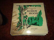 The Brandwiners LTD Present -ROBIN HOOD-  3 LP VERY RARE USA copy 1963 -  EX++