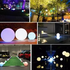 Outdoor Solar Led Color-Changing Floating Ball Night Light Landscape Yard Lamp G