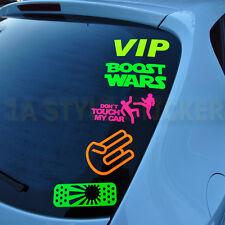 Gorgée TU TRICHES voiture autocollant tuning RAINBOW effet hologramme oilslick Shocker