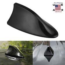 Black - Universal Auto Roof AM/FM Radio Signal Shark Fin Style Antenna Aerial