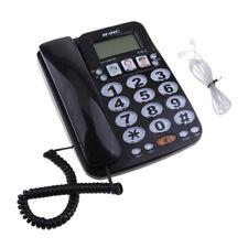 téléphone fixe à la maison d'hôtel cadran rapide amplifié photo