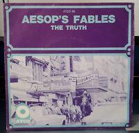 AESOPS FABLES the Truth 7' killer SOUL mod R&B hear Rare SP 1968 - EX / NM -