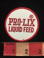 Vtg PRO-LIX LIQUID FEED Patch Farm Or Agriculture Related Advertising Patch S85R