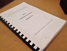 Mooney M20J ATS Advanced Trainer Pilot's Information Manual