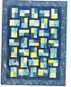 Fractions - Fabulous pieced quilt PATTERN - 5 size options - Mountainpeek