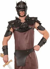 Medieval Fantasy Warrior Male Shoulder and Chest Armour Costume Accessory fnt