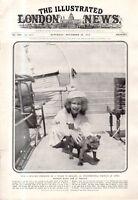 1915 London News December 4 - French bulldog;Winston Churchill resigns to enlist