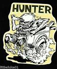 SURF HUNTER RAT FINK Sticker Decal Truck Car Surfboard Panel Van UTE Ford Holden