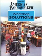 American Woodworker Workshop Solutions 1996 Rodale Router Jig Miter Jack Tuning