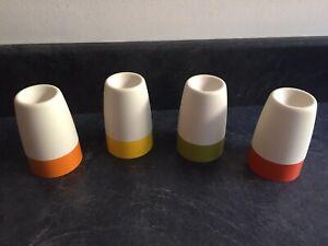 Vintage Tupperware - 4 Vintage Egg Cup Set