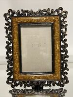 "VTG Aesthetic French Design Picture Frame Fits 4""x6"""