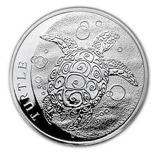 2017 Niue 5 oz Silver $10 Hawksbill Turtle BU - SKU #117519