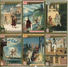 Chromo Liebig Sang. 549 ITA Serenate di Carnevale ANNO 1898