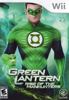 Green Lantern - Rise of the Manhunters New Nintendo WII