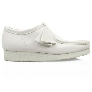 Clarks Originals - Limited Edition Wallabee Shoes - White Suede