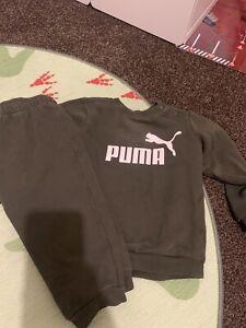 Puma Boys Tracksuit Aged 12-18 Months